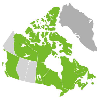 Distribution: Zostera Linnaeus