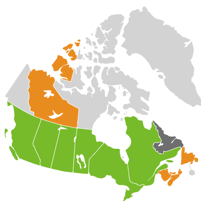 Distribution: Ambrosia Linnaeus